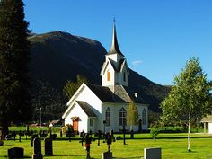The Sira church in Eresfjord, Nesset was built in 1869.
