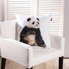 Obliečka Panda,     #vankuse#dremandfun#obyvacka#detskaizba#spalna Panda Bear, Throw Pillows, Fun, Animals, Toss Pillows, Animales, Cushions, Animaux, Panda