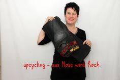 Upcycling - aus Hose wird Rock