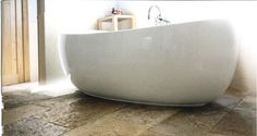 I'm not a bath person by nature, but I sure could lounge in this tub for hours.