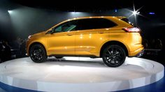 The all-new 2015 Ford Edge Revealed at Further with Ford Ford Edge, Ford News, New View, Ford Motor Company, Ford Trucks, Concept Cars, Key West, Youtube, Classic