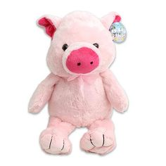Large Plush Cuddle Pink Pig Stuffed Toy 20 Tall -- Click on the image for additional details.