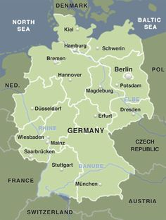 Germany at a glance: a brief summary of important facts | Tourism in Germany – travel, breaks, holidays