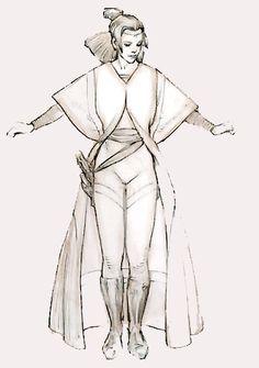 Padme Amidala Episode I Battle Dress concept art http://rebelshaven.com/SWFFAQ/images/battledress/battledressconcept.jpg ★ || CHARACTER DESIGN REFERENCES | キャラクターデザイン  • Find more artworks at https://www.facebook.com/CharacterDesignReferences & http://www.pinterest.com/characterdesigh and learn how to draw: #concept #art #animation #anime #comics || ★