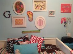 My surfing girls bedroom ideas - Recreate and Decorate