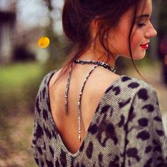 The Zoe Lariat piece is a must have with over 20 different ways to wear it! Love this look here! See all the different ways to wear...