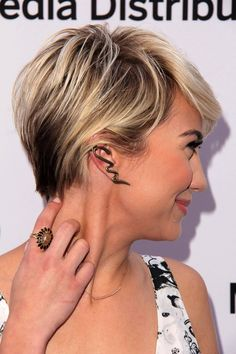 short dark blonde hair with highlights | ... For Your Short Haircut Using Highlights | Latest Short Hairstyles 2014