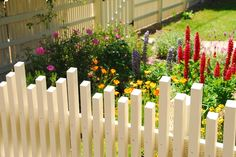 Fence With Dancing Pickets