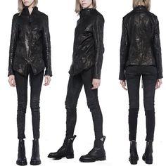 object / leather jacket