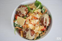 Lemon Tahini Salad | Sincerely Nourished