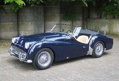 1958 Triumph, TR3A