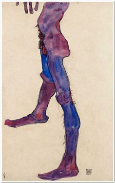 Masterpieces by Egon Schiele and Gustav Klimt, Vienna 1900 and Art Nouveau. Gustav Klimt, Figure Drawing, Painting & Drawing, Drawing Tips, Museum Exhibition, Erotic Art, Gouache, Art Inspo, Art Reference