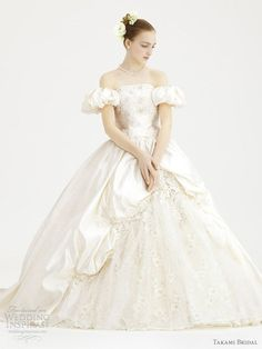 What's the centrepiece of your victorian theme wedding? Your victorian style wedding dress, of course! There are many choices and styles victorian wedding dresses for you to choose from. Funky Wedding Dresses, Disney Inspired Wedding Dresses, Gorgeous Wedding Dress, Beautiful Gowns, Bridal Gowns, Wedding Gowns, Pretty Dresses, Ball Gowns, Flower Girl Dresses