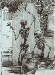 Drunken bones