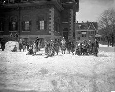 Protestant Children's Home between Lisgar and Cooper, Ottawa, Ontario.