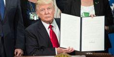 #Trump signs revised travel ban, exempts #Iraqis