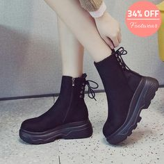 Slip On Boots, Shoe Boots, Winter Shoes For Women, Girls Shoes, Shoes Women, Boot Types, Spike Heels, Boots Online, Toe Shape