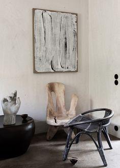 vosgesparis: From ethnic chic to Scandinavian functionality Scandinavian Interior, Modern Interior, Interior Design, Small Furniture, Craftsman Furniture, Ethnic Chic, Small Tables, Home Accessories, Coconut