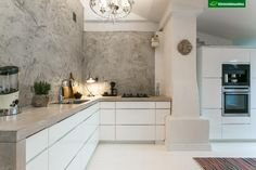 Flat Ideas, Flooring, Interior, House, Home Decor, Kitchen Inspiration, Adobe, Walls, Boho