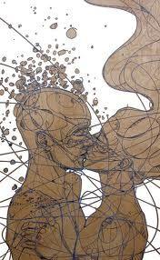 #kiss #bacio #love #amore #art by jason thielke