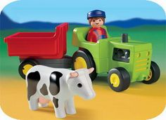 Playmobil Farmer with Tractor Playmobil Toys, Indoor Activities For Kids, Little Man, Minions, Toy Chest, Outdoor Blanket, Children, Chapters Indigo, 1 An