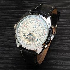 Jaragar Luxury Brand Tourbillon Watch