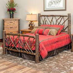 Amish Rustic Cabin Hickory Wood Wagon Wheel Bedroom Furniture Set |  Pinterest | Wagon Wheels, Furniture Sets And Cabin