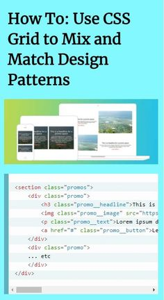 In a previous tutorial, I described how to create a simple fluid card grid with CSS Grid. In this tutorial, we'll take it a step farther and create promotional spaces that morph in interesting ways. Free Programming Books, Basic Computer Programming, Computer Basics, Css Programming, Web Design Tutorials, Design Patterns, Design Web, Flat Design, Graphic Design