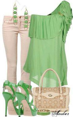 Green n tan