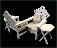 "1/4"" Courting Bench"