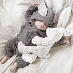 $16.85 Baby Clothes Bunny Baby Rompers Cotton Hoodie Newborn Girl Onesies Outfits  #dresses #grunge #croptop #trends #outfits #pink #hiphop #fashion #boho #kpop #summer #dress #Swimsuit #bikini #fashionblog #brazilianbikini