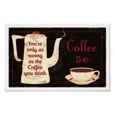 coffee sign1 posters