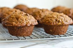 Whole Grain Morning Glory muffins - Morning Glory Muffins are made with a little bit of everything -- whole wheat flour, carrots, apples, raisins, walnuts, orange juice, coconut and wheat germ -- and, true to their name, they're a glorious way to start the day.