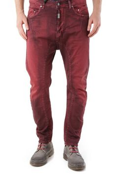 Pantaloni Uomo Absolut Joy (VI-P2471) colore Bordo