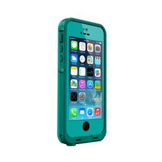 Lifeproof case for iPhone 5s in Dark Teal / Teal