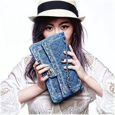 堅強與夢幻丹寧與蕾絲有時衝突組合能更像你 別害怕做你自己 來去看ELLE造型總監穿搭tips與命定小香的故事 >>http://pics.ee/1YH2 #My1stCHANEL #ChanelBR4REOPEN #我的命定小香 #ootd #tbt #jeans #mixandmatch#chanelbag #accessories @chinghuachen421  via ELLE TAIWAN MAGAZINE OFFICIAL INSTAGRAM - Fashion Campaigns  Haute Couture  Advertising  Editorial Photography  Magazine Cover Designs  Supermodels  Runway Models