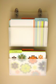 Great way to organize paper