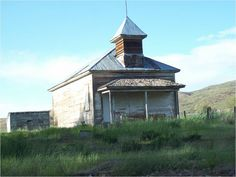 Mann Creek School House. Weiser, Idaho