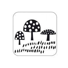 Stempel paddenstoel - http://credu.nl/product/stempel-paddestoel/