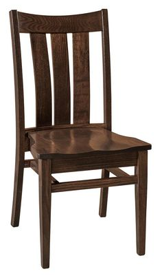 Amish Lamont Stacking Dining Side Chair