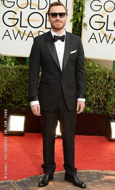 Michael Fassbender - Tom Ford - Golden Globes 2014