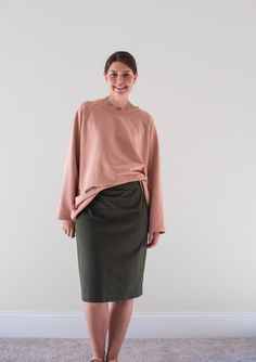 Knit Pencil Skirt Pattern Skirt-A-Thon and Giveaway!