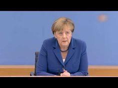 Kanzlerin Merkel: Sommer-Pressekonferenz