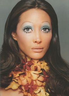 70's makeup.....that was a scary look