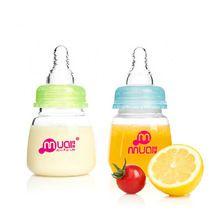 Mamadeiras bebê 0 - 6 meses PP pequena garrafa de 80 ML de enfermagem alimentação alimentador de leite suco de frutas 2015 oferta especial(China (Mainland))