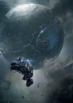 John Liberto - the art of Halo IV