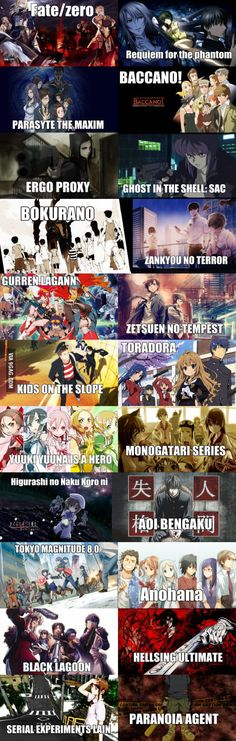 List of really good and mature anime I watched that I can't recommend enough in…