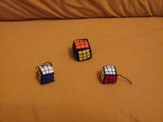 Adornos para móvil Cubo Rubik.
