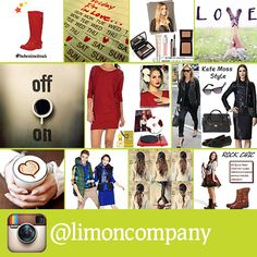 Bizi #instagram'da takip ediyor musunuz? #love #fashion #style #limoncompany
