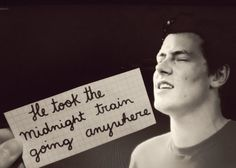 Cory Monteith He Took The Midnight Train Going Anywhere